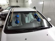 Chevrolet Cruze установка стекла