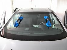 Mitsubishi lancer установка лобового стекла