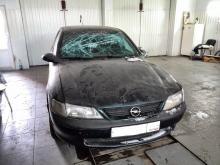 Opel vectra B замена лобового стекла