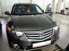 Honda accord замена лобового стекла